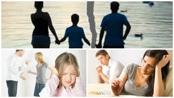 Influencia del divorcio en los hijos